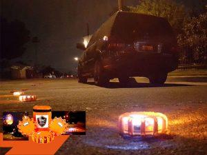 Safety Disc 1 tac roadside, bengalas de luz - funciona?