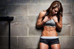 Polvo de proteína como protección al construir músculo