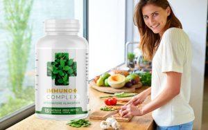 Immuno+ Complex cápsulas, ingredientes, cómo tomarlo, como funciona, efectos secundarios