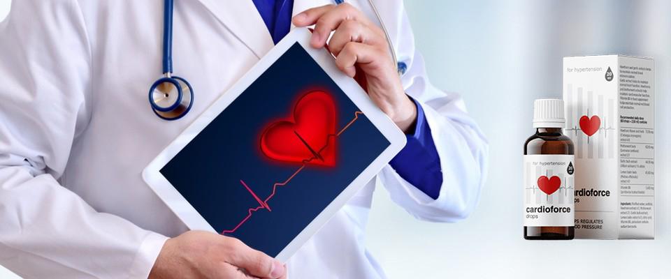 Cardioforce gotas, ingredientes, cómo tomarlo, como funciona, efectos secundarios